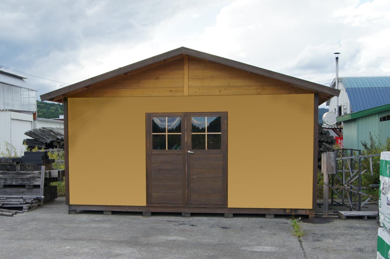パネルハウス5436Lite|木製スモールハウス